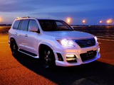 WALD Lexus LX 570 Black Bison Edition Sports Line (URJ200) 2011 photos
