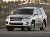 Lexus LX 570 (URJ200) 2012 wallpapers