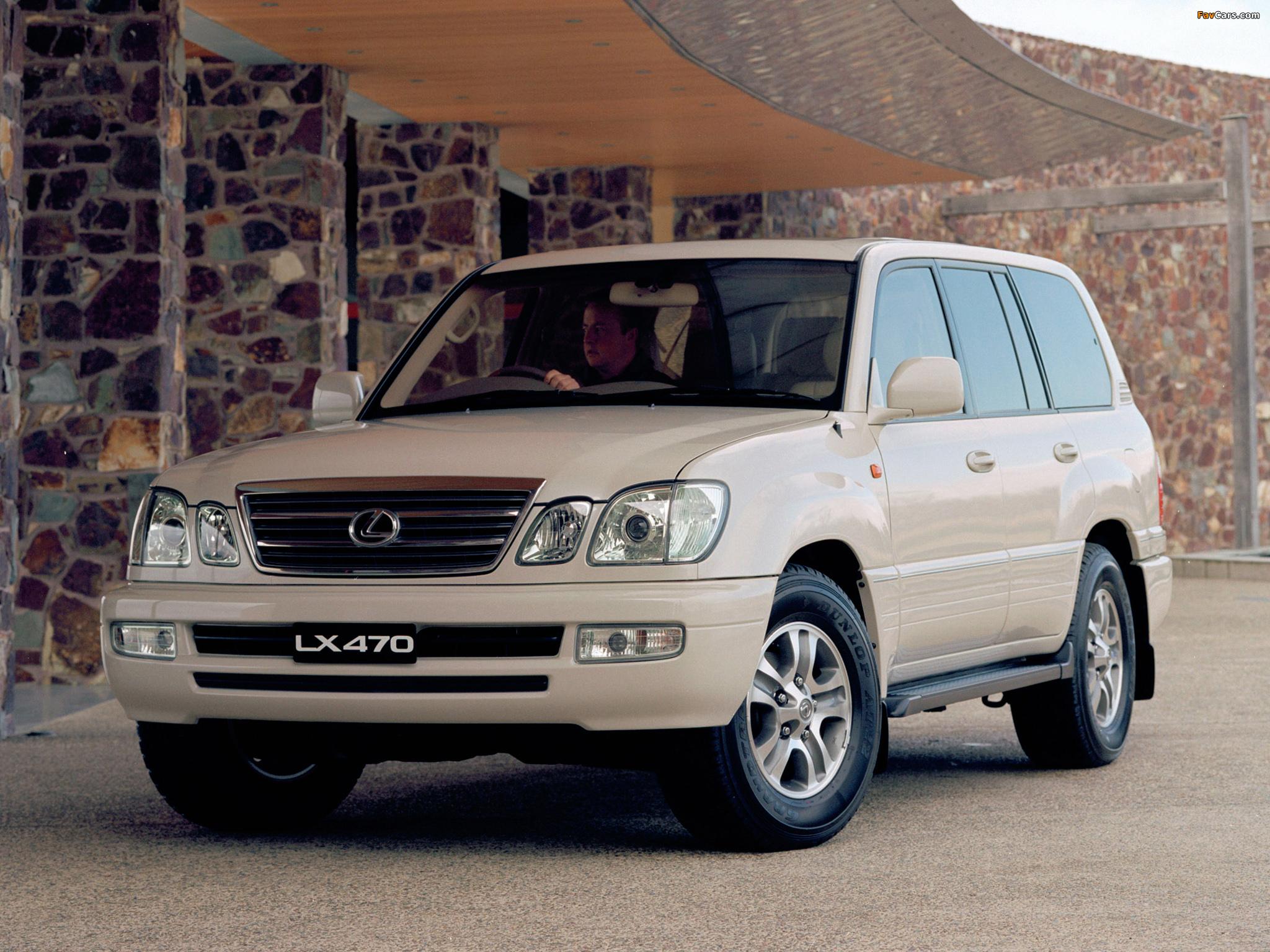 Lexus lx 470 au spec uzj100 2003 05 wallpapers 2048 x