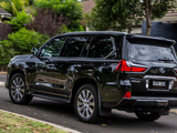 Wallpapers of Lexus LX 570 AU-spec (URJ200) 2015