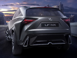 Lexus LF-NX Turbo Concept 2013 images