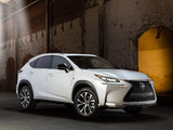 Photos of Lexus NX 200t F-Sport 2014
