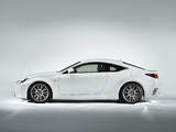Lexus RC 350 F-Sport 2014 photos