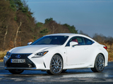 Pictures of Lexus RC 300h F-Sport UK-spec 2015