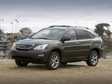 Lexus RX 350 Pebble Beach Edition 2008 wallpapers