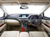 Lexus RX 350 AU-spec 2009–12 images