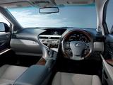 Lexus RX 450h JP-spec 2009–12 images
