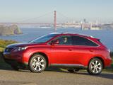 Lexus RX 350 2009–12 photos