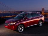 Lexus RX 350 2009–12 pictures