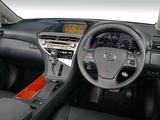 Lexus RX 450h LXE 2010 wallpapers