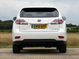 Lexus RX 450h F-Sport UK-spec 2012 photos