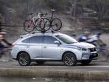Lexus RX 350 F-Sport AU-spec 2012 photos