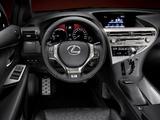 Lexus RX 450h F-Sport EU-spec 2012 photos
