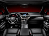 Lexus RX 450h F-Sport EU-spec 2012 wallpapers