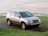 Photos of Lexus RX 300 1998–2000