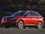 Photos of Lexus RX 350 2009–12