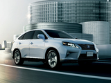 Photos of Lexus RX 450h JP-spec 2012