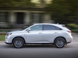 Photos of Lexus RX 350 F-Sport 2012