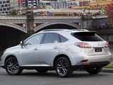 Photos of Lexus RX 350 F-Sport AU-spec 2012
