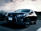 Photos of Lexus RX 450h F-Sport JP-spec 2012