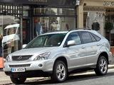 Pictures of Lexus RX 400h UK-spec 2005–09