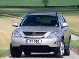 Pictures of Lexus RX 350 UK-spec 2006–09