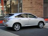 Pictures of Lexus RX 450h UK-spec 2009–12