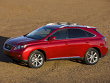 Pictures of Lexus RX 350 2009–12
