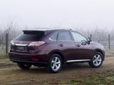 Pictures of Lexus RX 270 AU-spec 2012