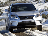 Pictures of Lexus RX 350 F-Sport AU-spec 2012