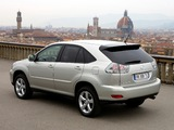 Lexus RX 350 EU-spec 2006–09 wallpapers
