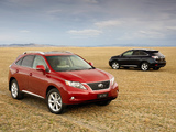 Lexus RX 350 AU-spec 2009–12 wallpapers