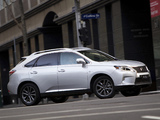 Lexus RX 350 F-Sport AU-spec 2012 wallpapers