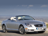 Images of Lexus SC 430 UK-spec 2006–10