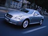 Lexus SC 430 EU-spec 2001–05 photos