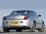 Lexus SC 430 UK-spec 2006–10 photos
