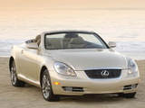 Lexus SC 430 2006–10 wallpapers