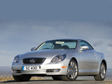 Photos of Lexus SC 430 UK-spec 2006–10