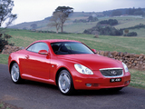 Lexus SC 430 AU-spec 2001–05 wallpapers