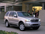 Lincoln Aviator 2002–05 pictures