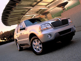 Lincoln Aviator 2002–05 wallpapers