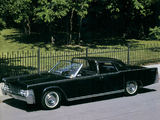 Lincoln Continental Town Brougham Show Car 1965 wallpapers