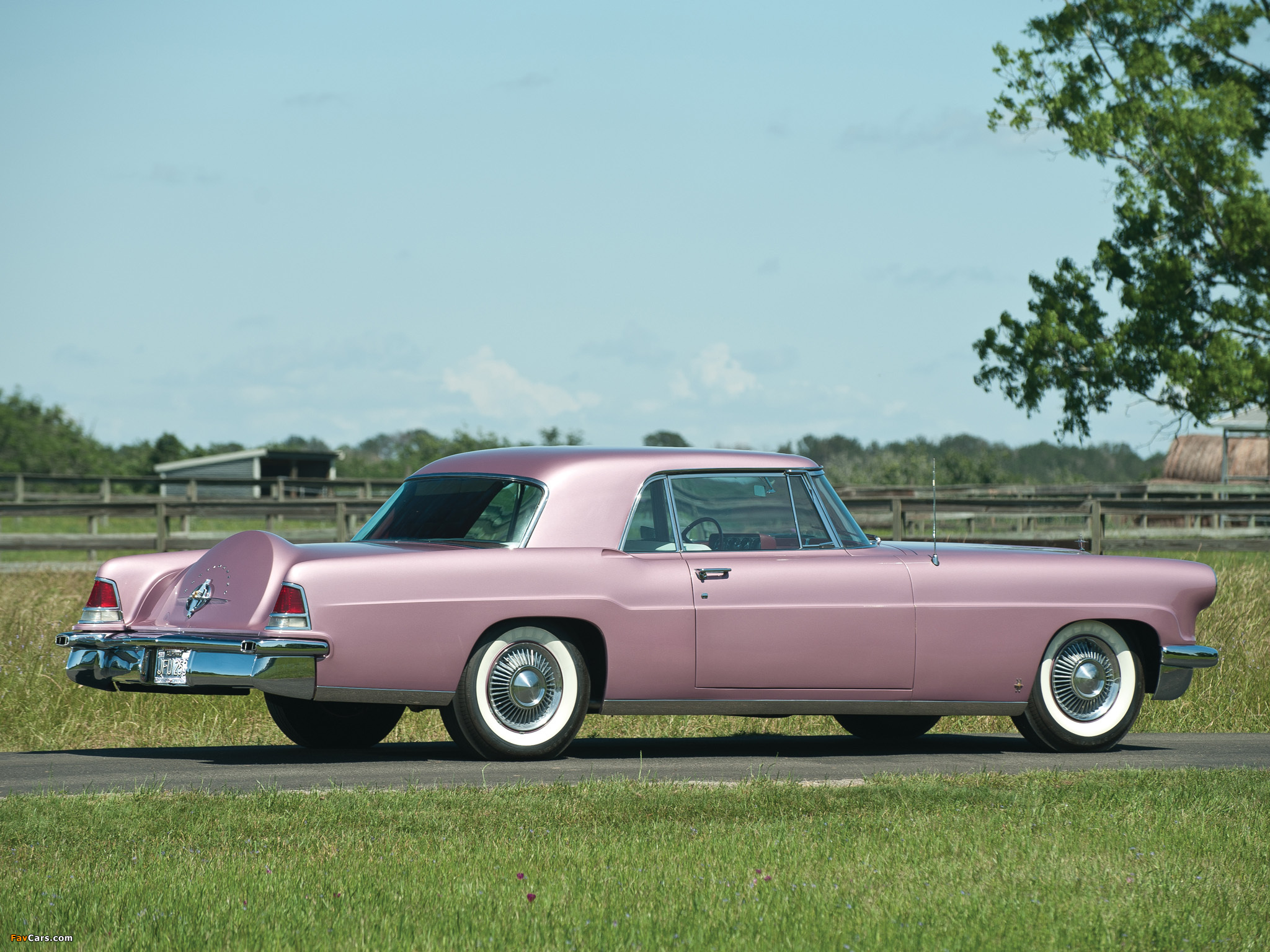 Lincoln Continental Mark II 1956–57 wallpapers (2048x1536)