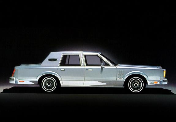 Continental Mark VI 4door Sedan 198083 photos