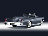 Lincoln Continental Mark II Convertible 1956–57 wallpapers