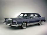 Lincoln Continental Mark VI Pucci Edition Sedan 1983 wallpapers