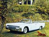 Images of Lincoln Continental Convertible 1961