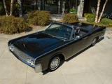 Images of Lincoln Continental Convertible 1963