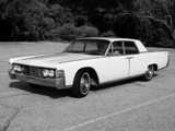 Images of Lincoln Continental Sedan 1965