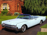 Images of Lincoln Continental Convertible 1967